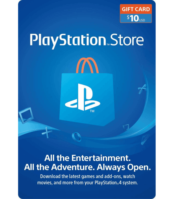 Gift Card Playstation Store 10 USD USA