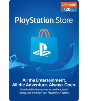 playstation gift card 20 usd USA