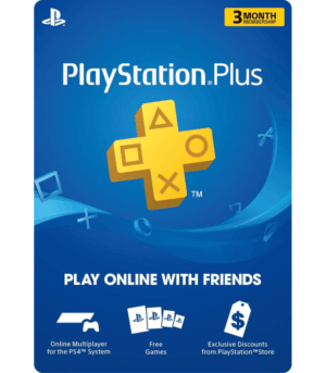 3 Meses membresia playstation plus usa