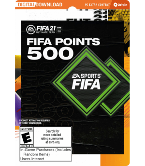 FIFA 21 Ultimate Team - 500 FIFA Points
