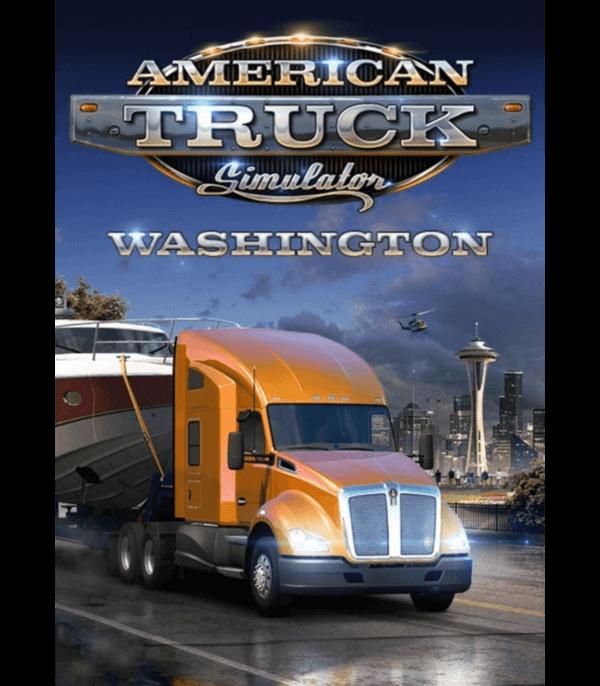 American truck simulator washington dlc