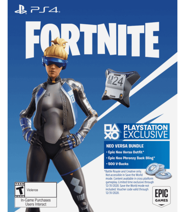 Fortnite Neo Versa Pack 500 pavos