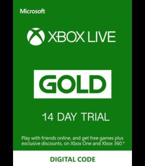 Xbox Live Gold 14 Días