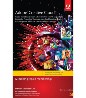 Adobe Creative Cloud 1 Año