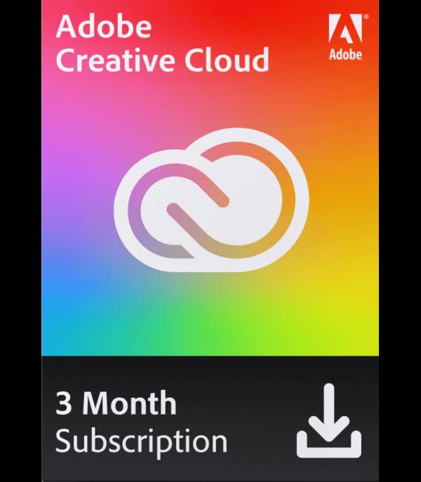 Adobe Creative Cloud 3 Meses