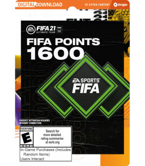 FIFA 21 Ultimate Team - 1600 FIFA Points