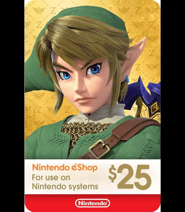 Nintendo Eshop 25 USD